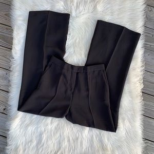 'S Max Mara Black High Waisted Wide Leg Trousers